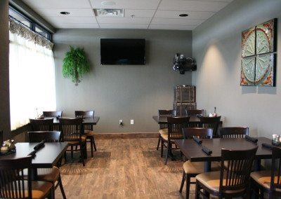 Private dining room available with AV hookups